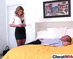 Real whore white bitch (cory chase) love hard style cheating group-sex video-10