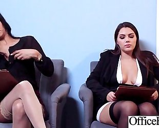 Round large billibongs Married slut (abby lee brazil & valentina nappi) receive group-fucked in office clip-01