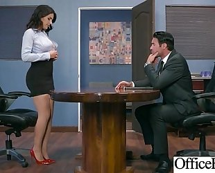 (valentina nappi) Married slut with round large breasts in hard style sex in office clip-30
