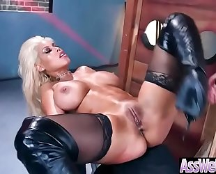 (bridgette b) massive round oiled gazoo black cock sluts hard and unfathomable anal nailed clip-12