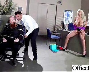 Lovely worker wench amateur wife (bridgette b) with round large scoops group-sex in office clip-10