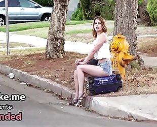 Maya bijou sucks weenie for a ride