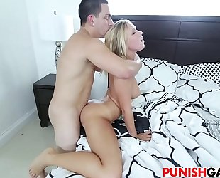 Bailey brooke receives punished by stepdad