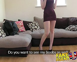 Fakeagentuk hot italian playgirl shows unbelievable unfathomable mouth skills