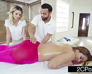 Female client needs greater quantity than a massage - bella rose, miss raquel