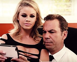 Oh yeah dad, just like that! - jessa rhodes