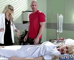 Patient (jessa rhodes) come to doctor for control and receive sex movie-18