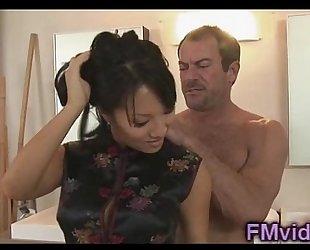 Hot shower with glamorous asa akira