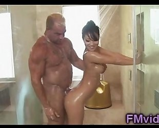 Asa akira hawt shower