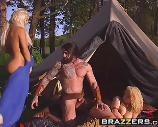 Brazzers.com - storm of kings xxx parody part two aruba jasmine and peta jensen and ro