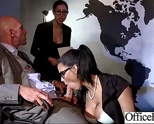 (peta jensen) breasty sexy office bitch hotwife love hardcore intercorse clip-23