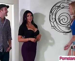 (romi rain & melissa may) perverted pornstar ride on livecam a mamba shlong movie-30