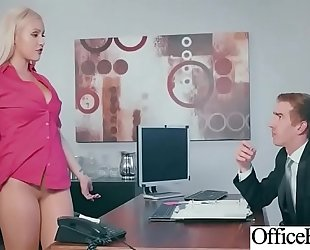Hardcore group sex with concupiscent large milk sacks office white women (kylie page) video-13