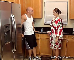 [taboo passions] son get's wicked with mamma madisin lee in got to workout