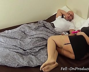 Horny mama blackmails stepson