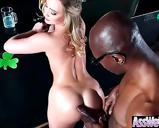 Hardcore anal sex with large wazoo oiled up sluty white bitch (aj applegate) video-04
