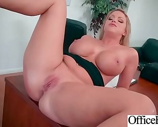 Hot large breasts Married slut (brooklyn chase) hard nailed in office mov-06