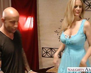 Chesty blond teacher julia ann fucking