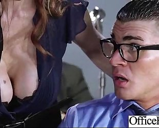 (julia ann) large round melons horny white wife have a fun sex in office clip-23