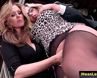 Hot mean lesbos - disciplinary act part one with julia ann & olivia austin 01