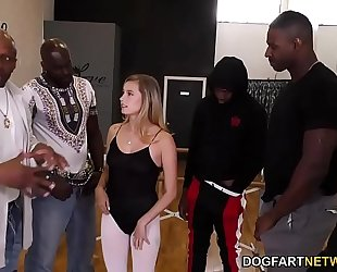 Carolina sweets interracial team fuck