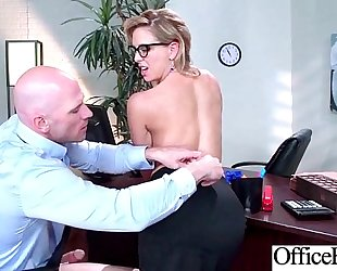 Superb office housewife (cherie deville) with large pantoons have a fun intercorse movie-27