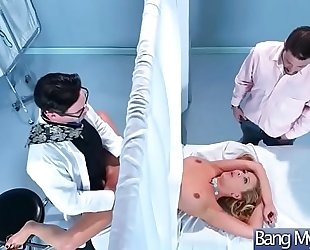 Sex adventures betwixt doctor and lustful patient (cherie deville) video-10