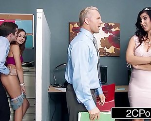 Stepmom catches her stepdaughter fucking a co-worker ariana marie isis love