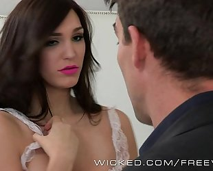 Holly michaels is one sexy maid