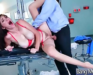 Hard sex group sex on livecam betwixt doctor and sluty patient (holly michaels) video-17