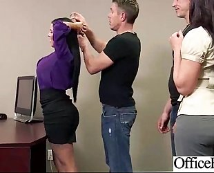 Sex in office with giant round melons sluty cheating wife (diamond kitty) movie-15