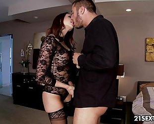 Exclusive playgirl chanel preston's intimate little affair.