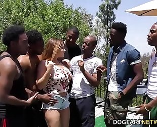 Natasha fine interracial group-sex sex