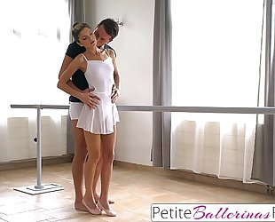 Tiny dancer gina gerson private ride on large schlong