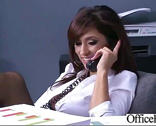 Hard sex on webcam in office with large juggs glamorous amateur wife (reena sky) clip-26