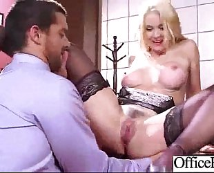 Big round mambos BBC slut (sarah vandella) receive gangbanged in office clip-29