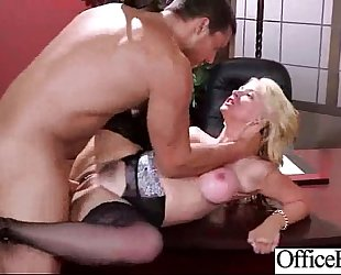 Hard scene with breasty doxy office BBC slut (sarah vandella) vid-27