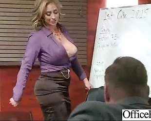 Sex hawt action in office with naughty lustful bitch non-professional slutwife (eva notty) video-20