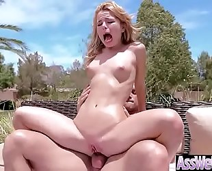 (alina west) superb sluty white women with large gazoo have a fun anal sex clip-05