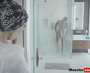 Tiffany watson getting her twat pounded hard by a monster dark penis