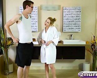 Angel smalls giving erotic massage
