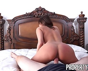 Propertysex - hawt french teacher copulates homeowner to receive deal on abode