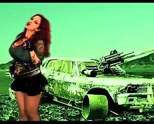 Sabrina sabrok - the blitzkrieg bop (official movie scene clip) rockstar largest pantoons