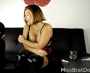Bp122- fedmom humiliation - coercive to take up with the tongue pussy- preview