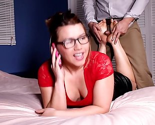 Bp148-cheating footjob- large ramrod