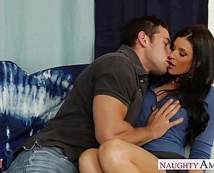 Hot mama india summer receives twat drilled and nailed