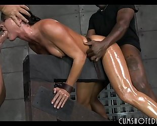 Hot fastened up doxy destroyed