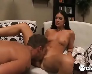 Sexy milf india summer has her palatable wet crack licked and sticked