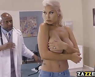 Big tittied bridgette b got banged hard and deep by a big black wang