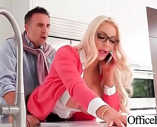 Hardcore gangbang with office nasty busty slutwife (nicolette shea) video-22